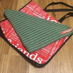 Green Stripe Vinyasa Scarf